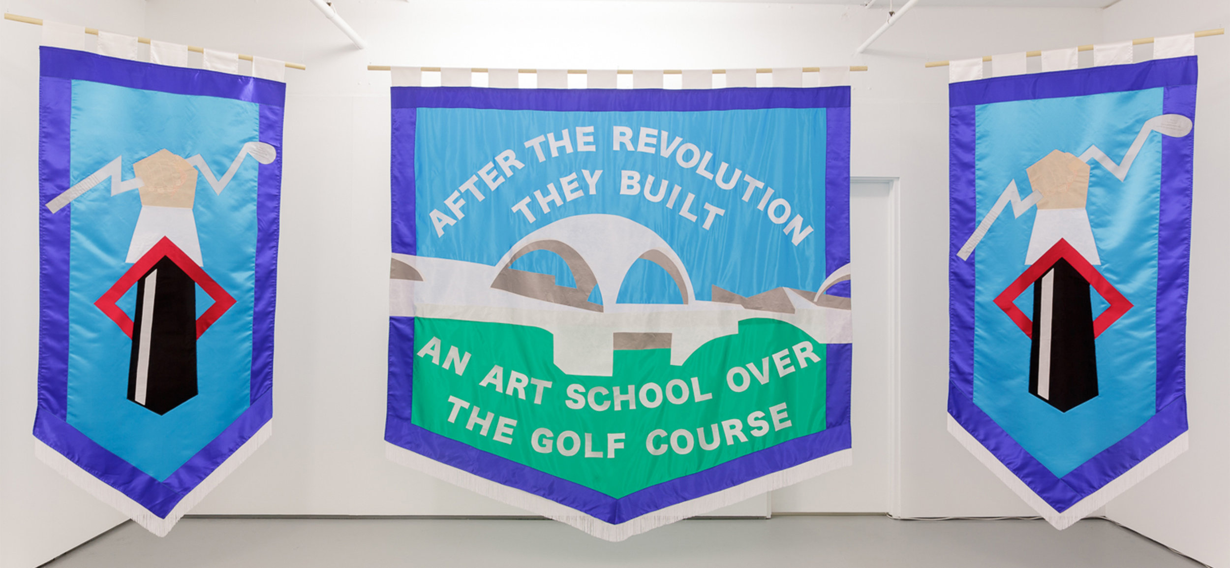 After the Revolution They Built an Art School Over the Golf Course