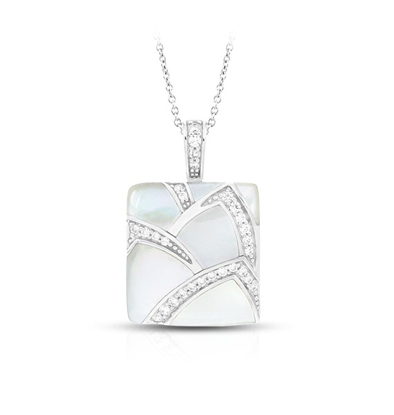 Sirena White Mother-of-Pearl Pendant