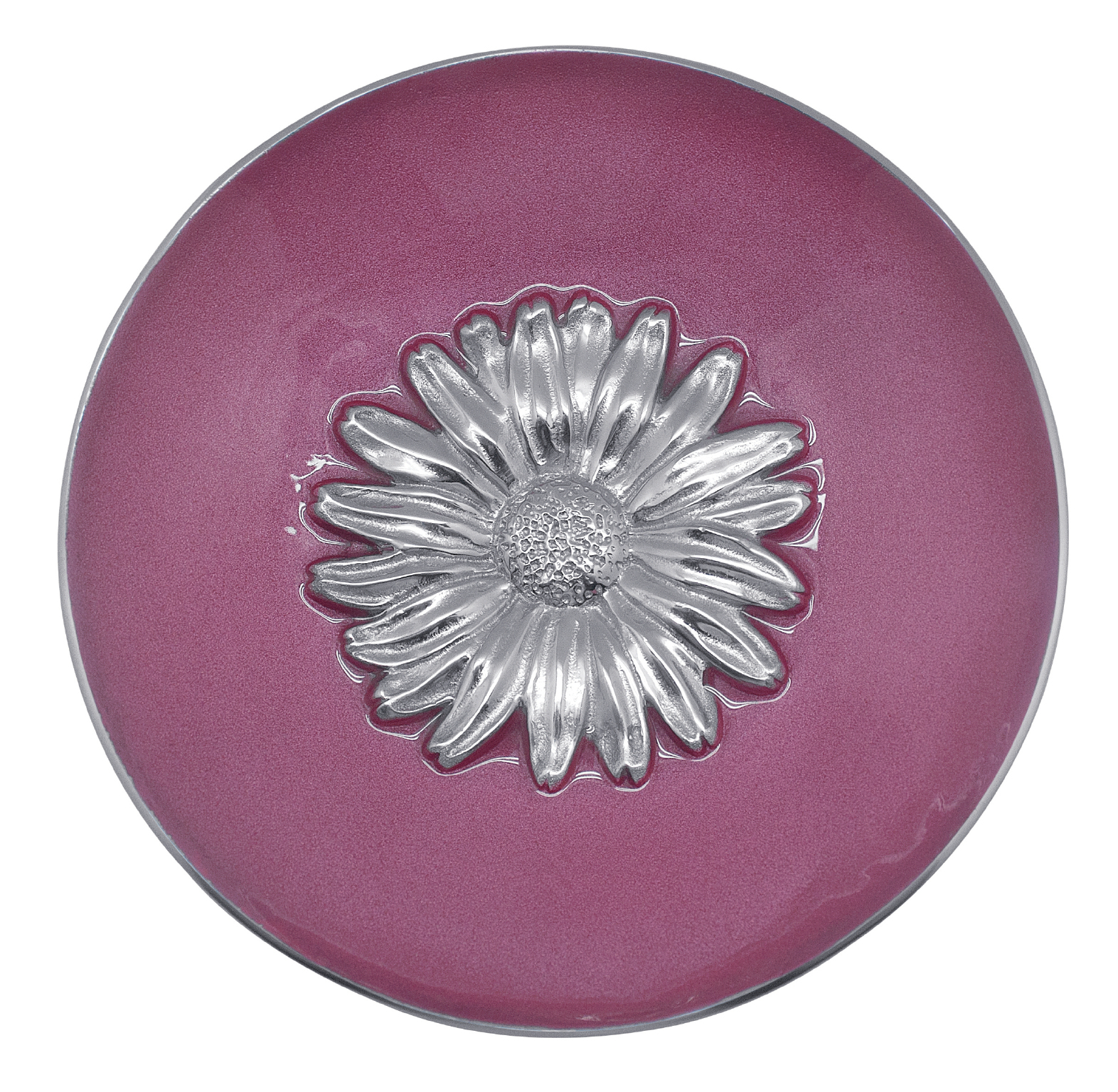 Pink Daisy Relief Bowl