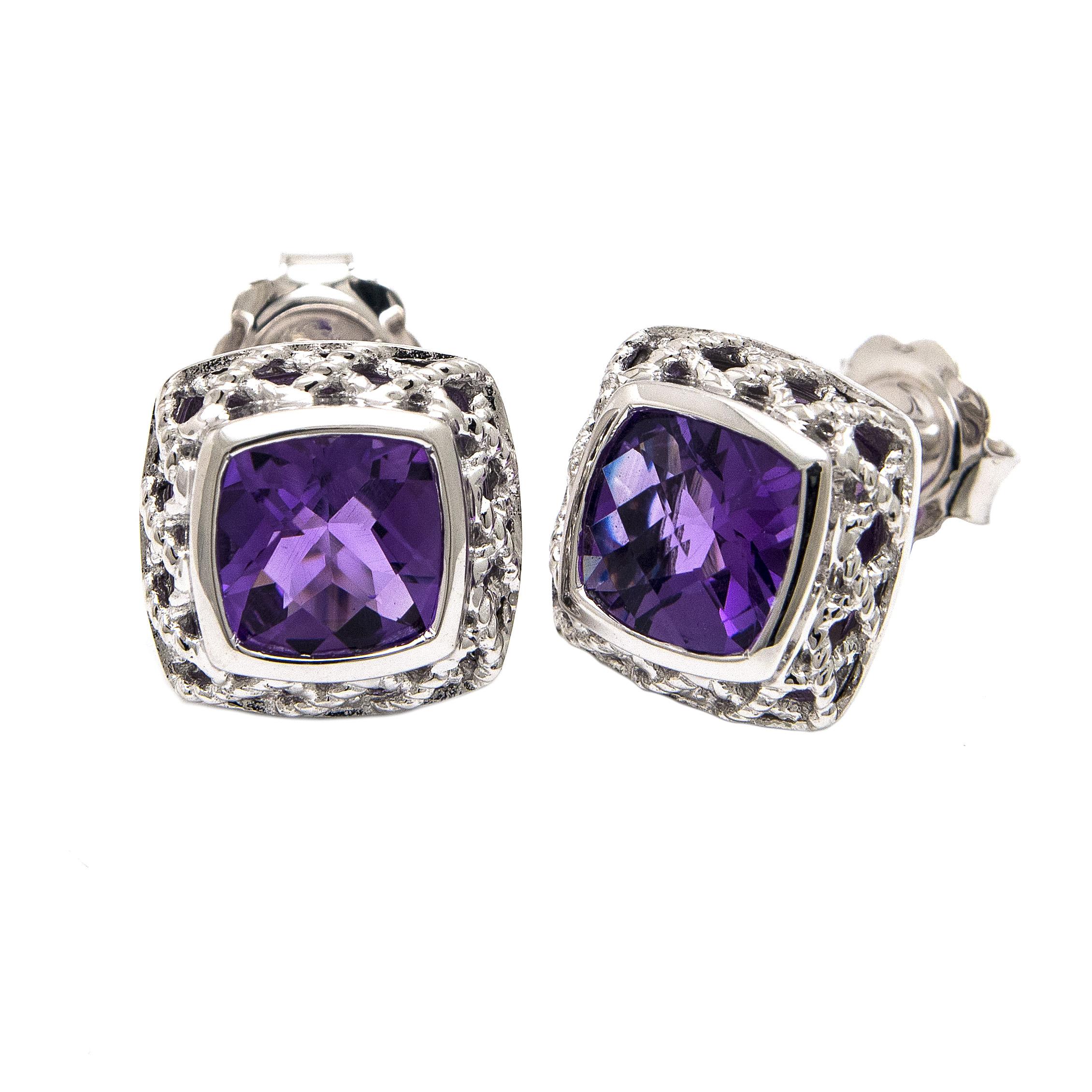 Rioja Amethyst Earrings