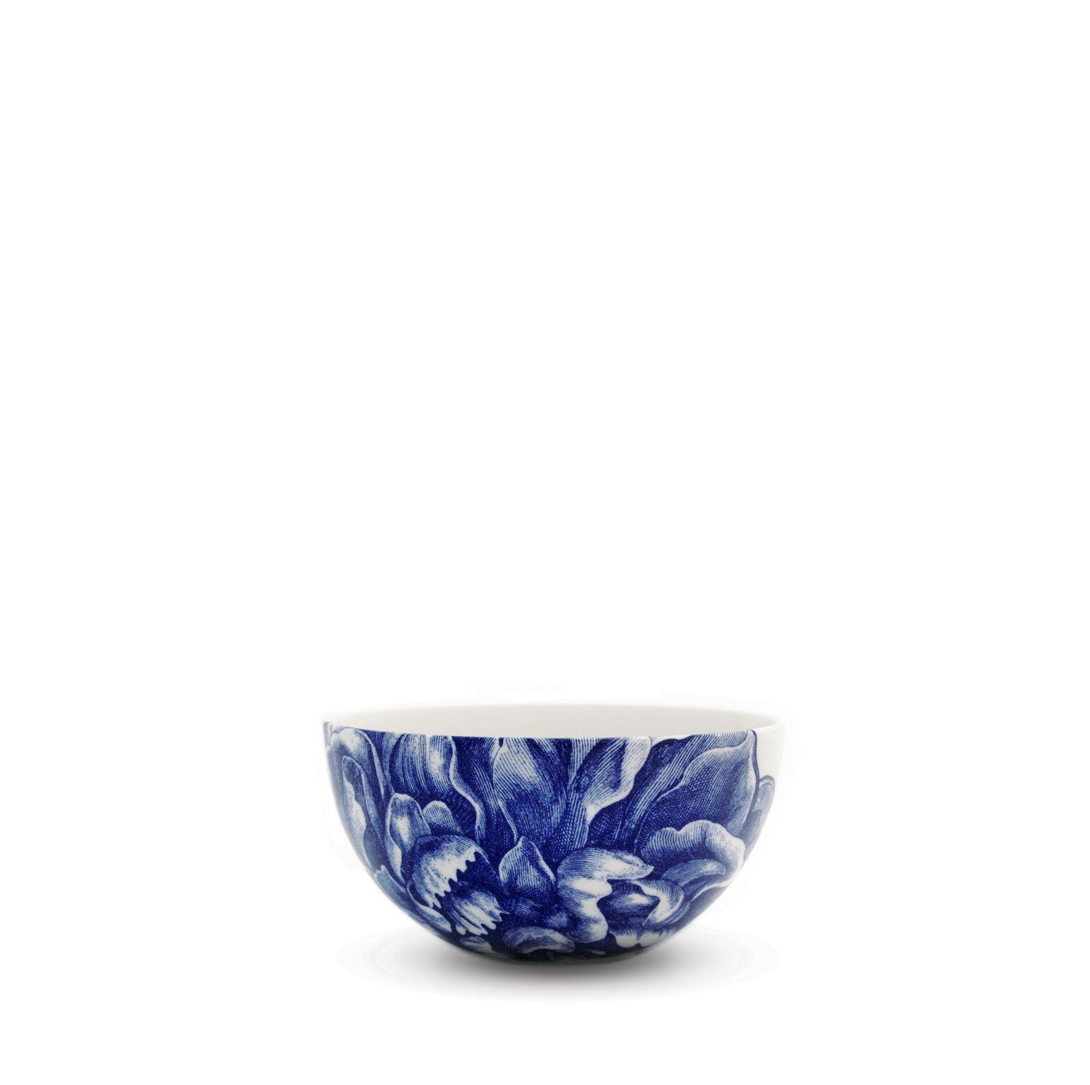 Peony Blue 4 Inch Bowl