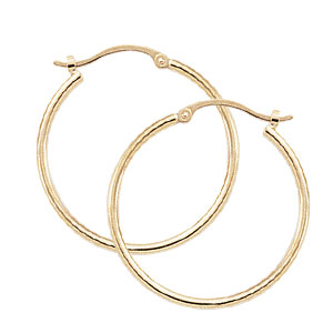 1.5x25 mm Endless Hoop Earrings