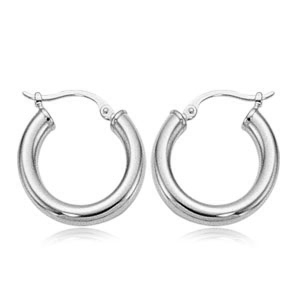 3x18 mm Hoop Earrings