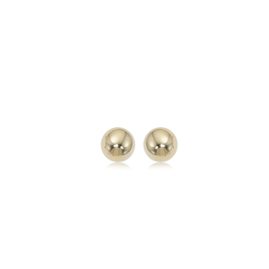 4 mm Ball Earrings