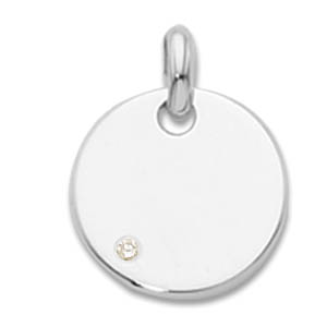 Diamond Birthstone Tag