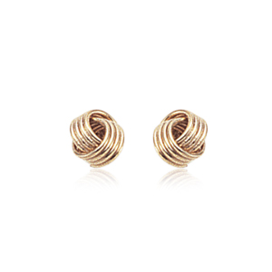 Interlocking Coil Earrings
