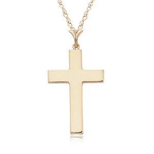 Polished Cross Pendant