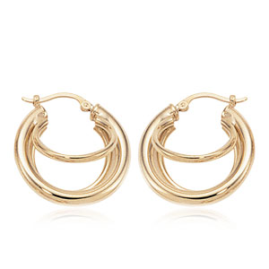 Triple Tube Earrings