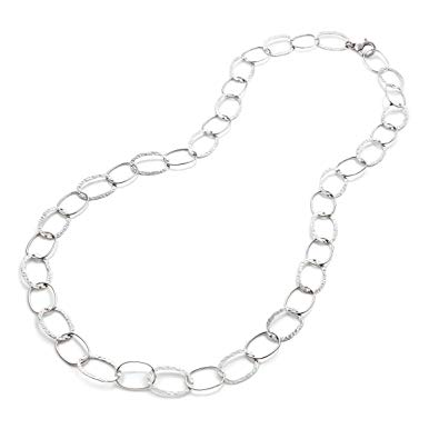 Alternating Oval Links Necklace