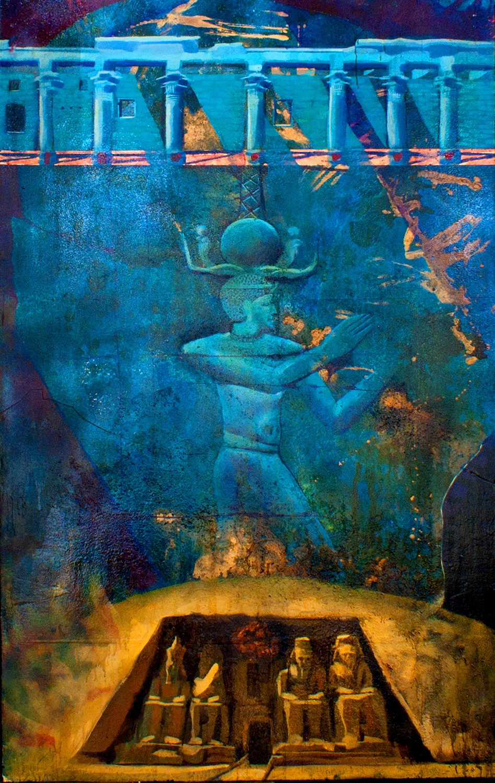 SOLD — Abu Simbel Sky