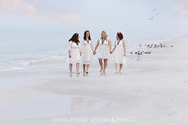 When you have the chance to photograph Queens, YOU TAKE IT! Here is a little look at our morning beach session and location 1/4!  Thank you @classring_quartet! 🖤👑 #mfdp #portraits #classring #queens