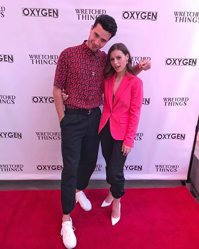 Wretched Things premiere - proud of you before, even more so now @bruceherbelinearle 🤩🎬
