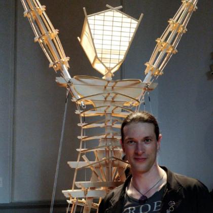 Patrick Deegan, PhD    Founder, Lead Artist and Roboticist