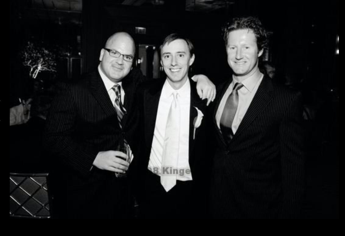 (l-r) Mark Murrell, Chris Speetzen, Scott Desgrosseilliers