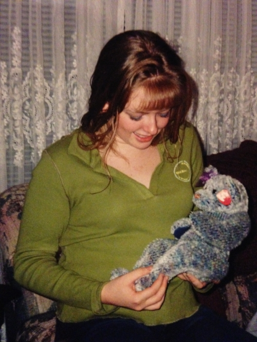 Me at age 16. I've always loved teddy bears. Like so much. :)