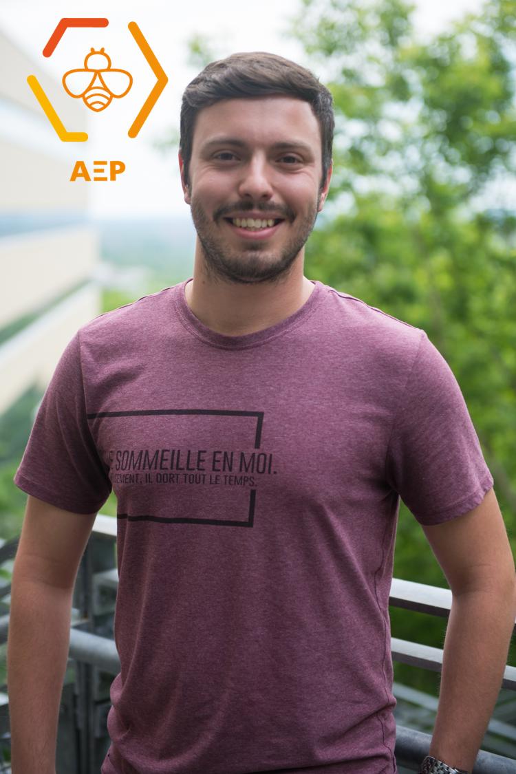 Jonathan Landry-Leclerc, coordonnateur aux communications 2018-2019