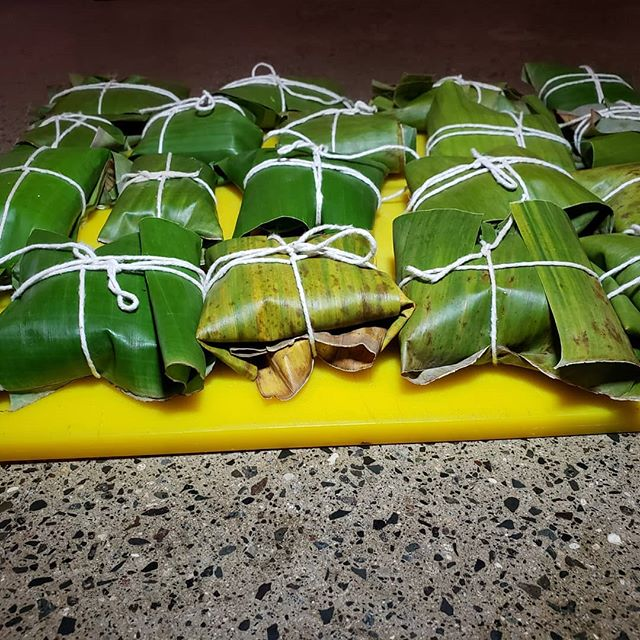 Awww...cute the mini Laulau! Served with our Okazuya breakfast starting this Sat and Sun at 7am or as an appetizer for lunch and dinner!