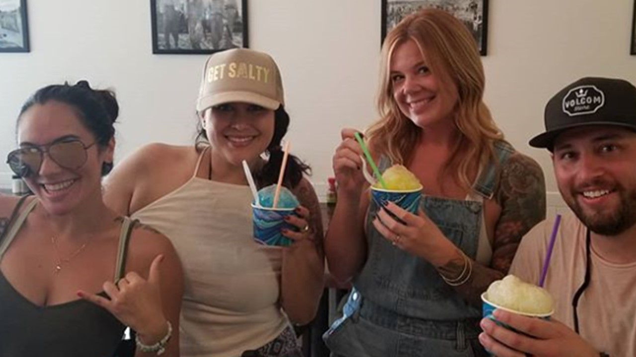 Haleiwa's ONLY Adult Shave Ice