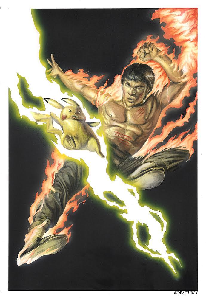 Bruce Lee Vs. Pikachu