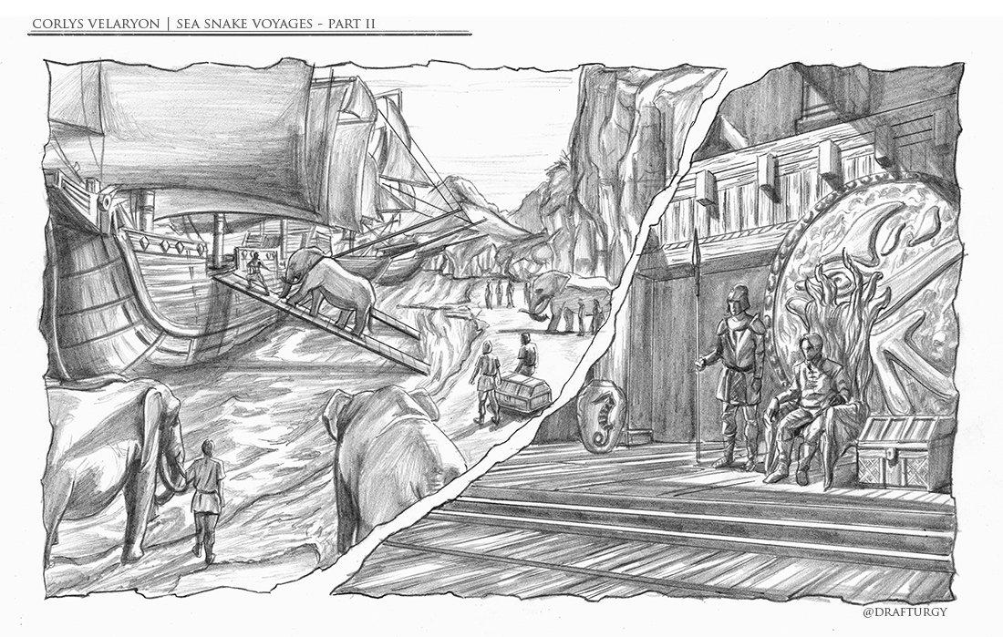 Corlys Velaryon Sea Voyages | Part II