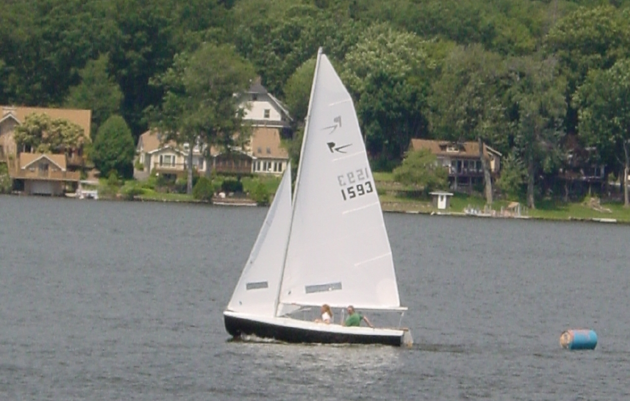Rebel 1593 - Fleet Race on July 11, 2009