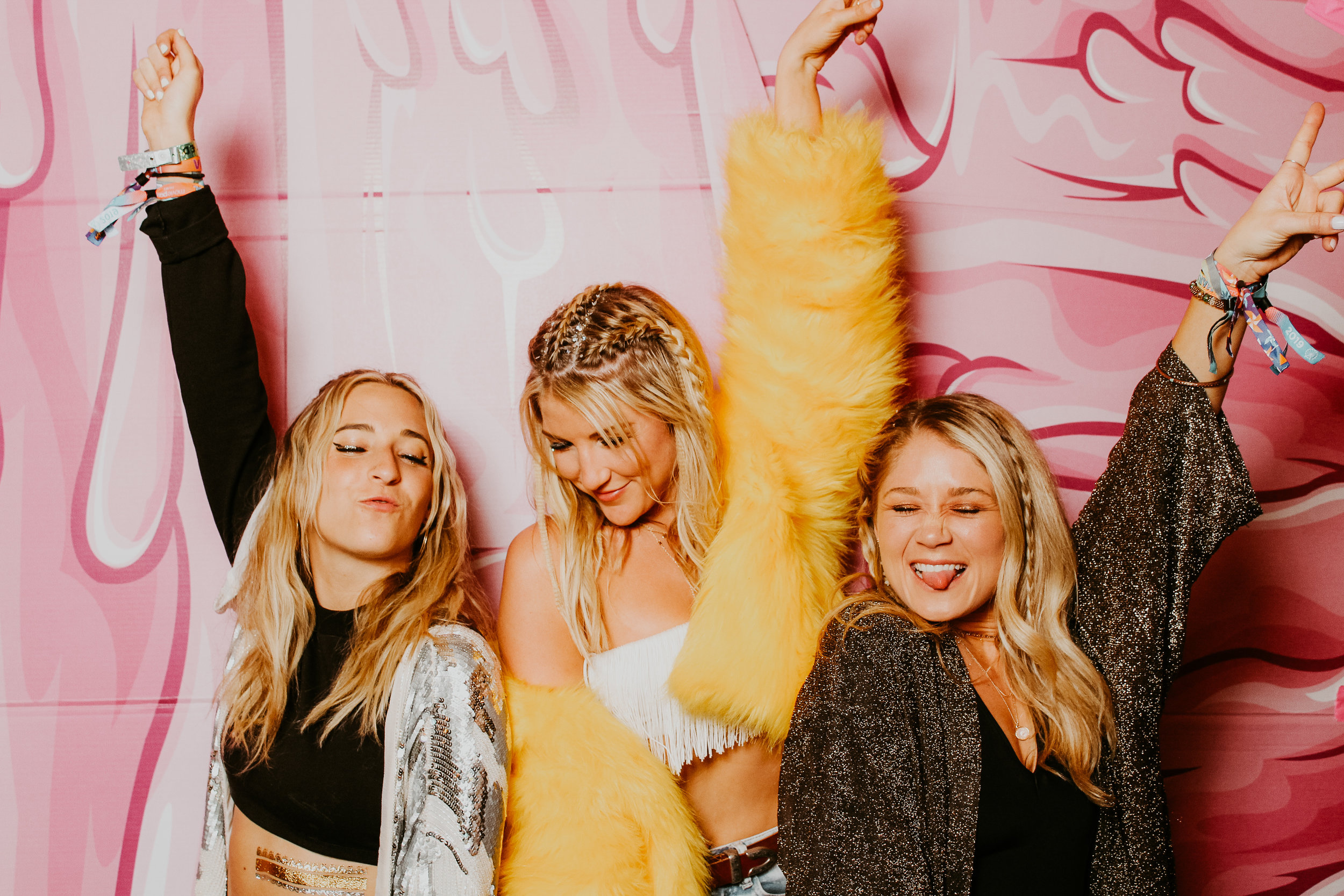 Coachella After Party Photobooth