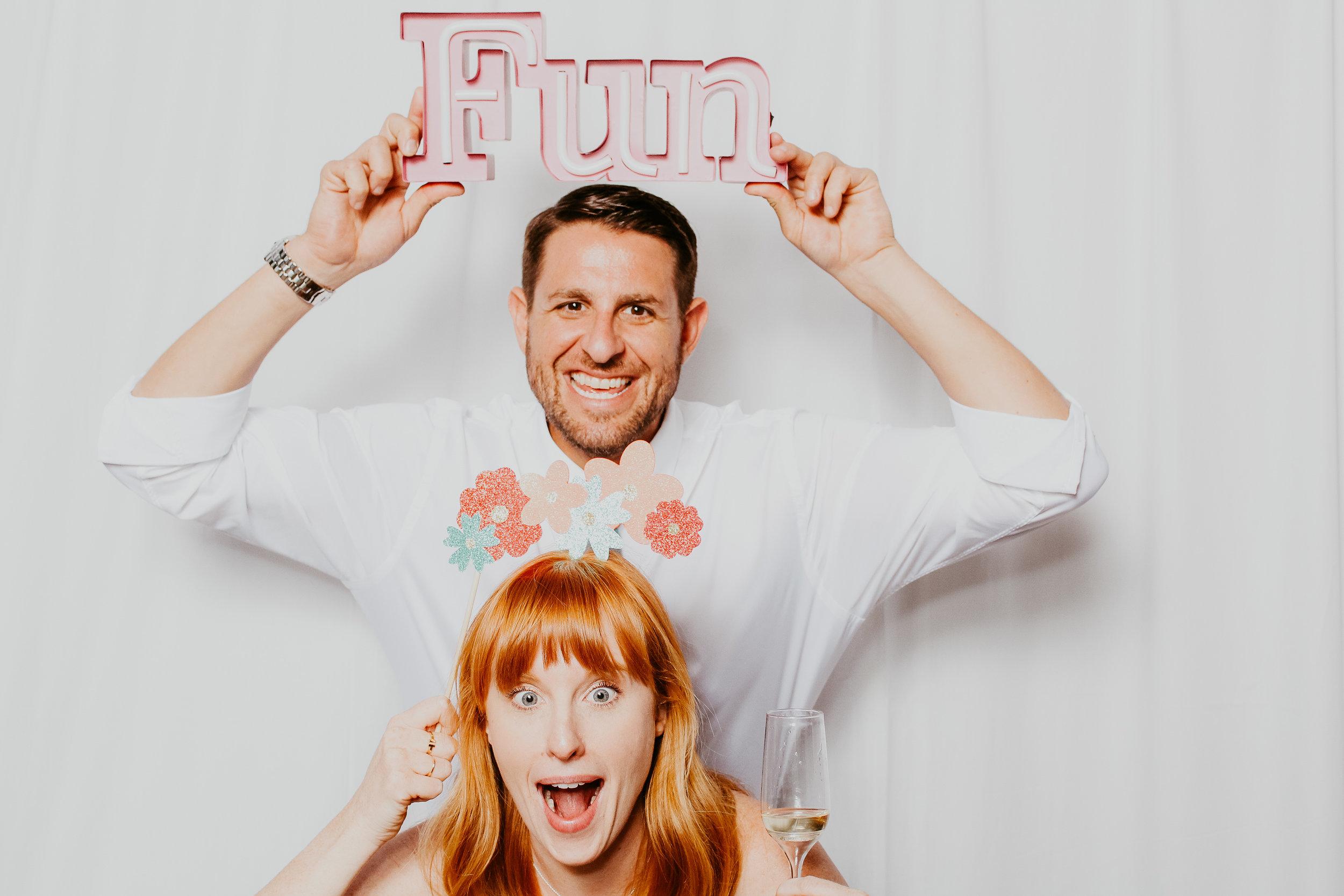 Palm Springs Wedding Photobooth Rental