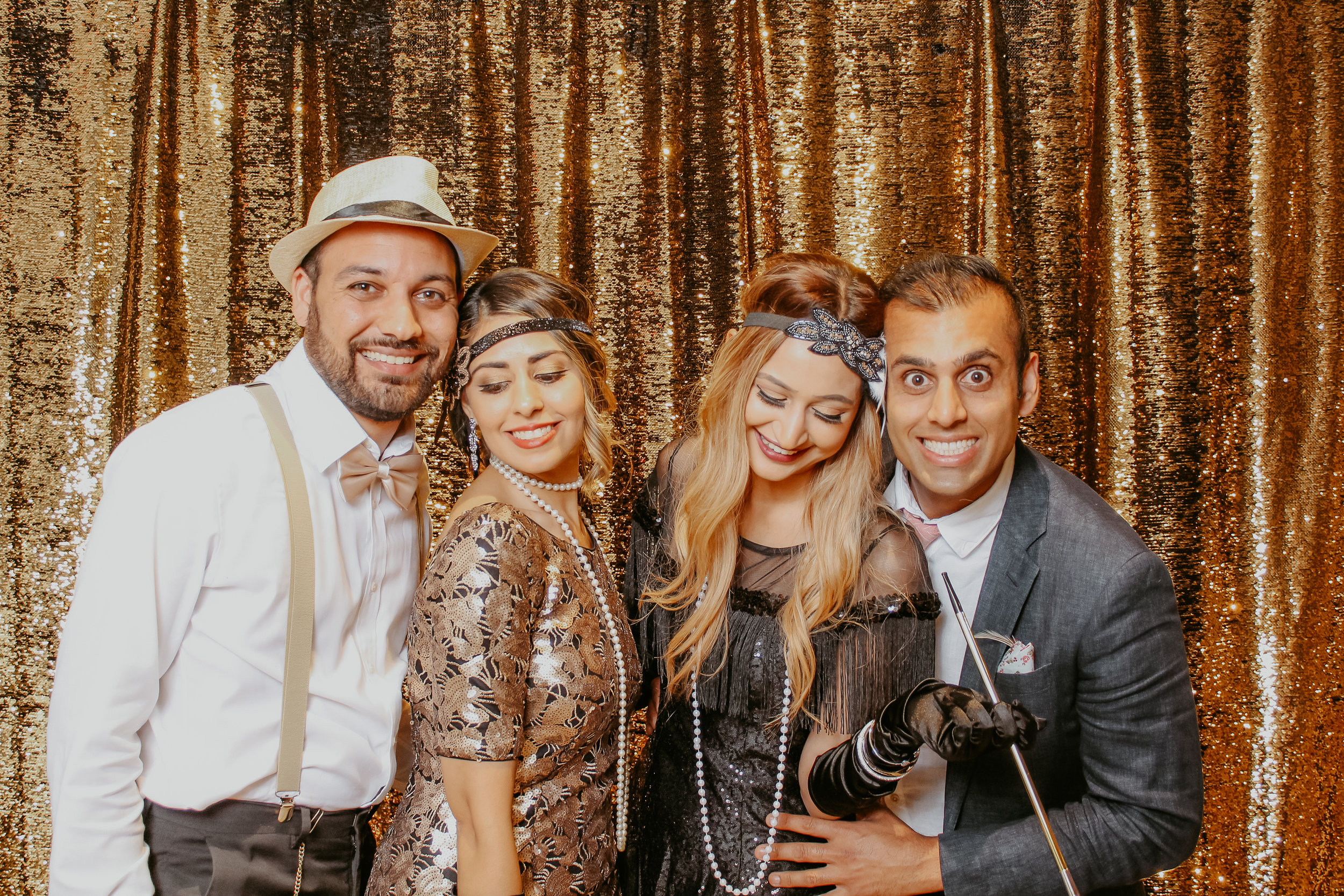 Great Gatsby 1920's Theme Photo Booth