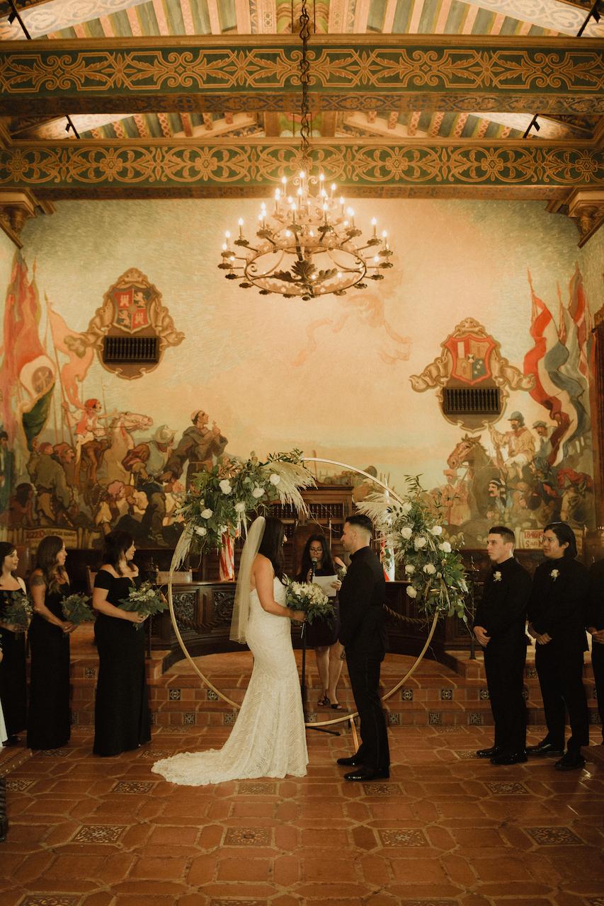 Sarah Zimmerman Photo - Santa Barbara Courthouse Wedding