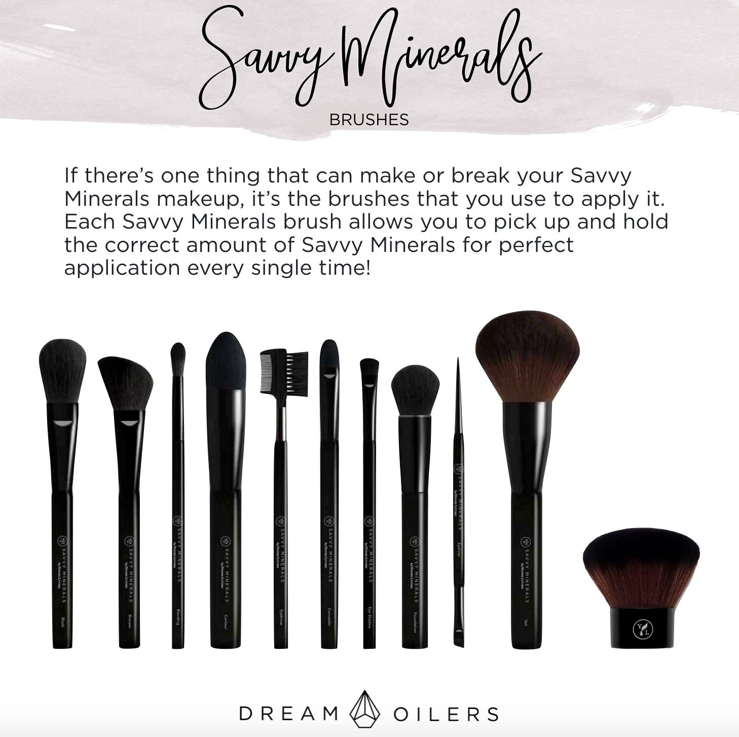 Savvy Minerals Makeup Dream Oilers