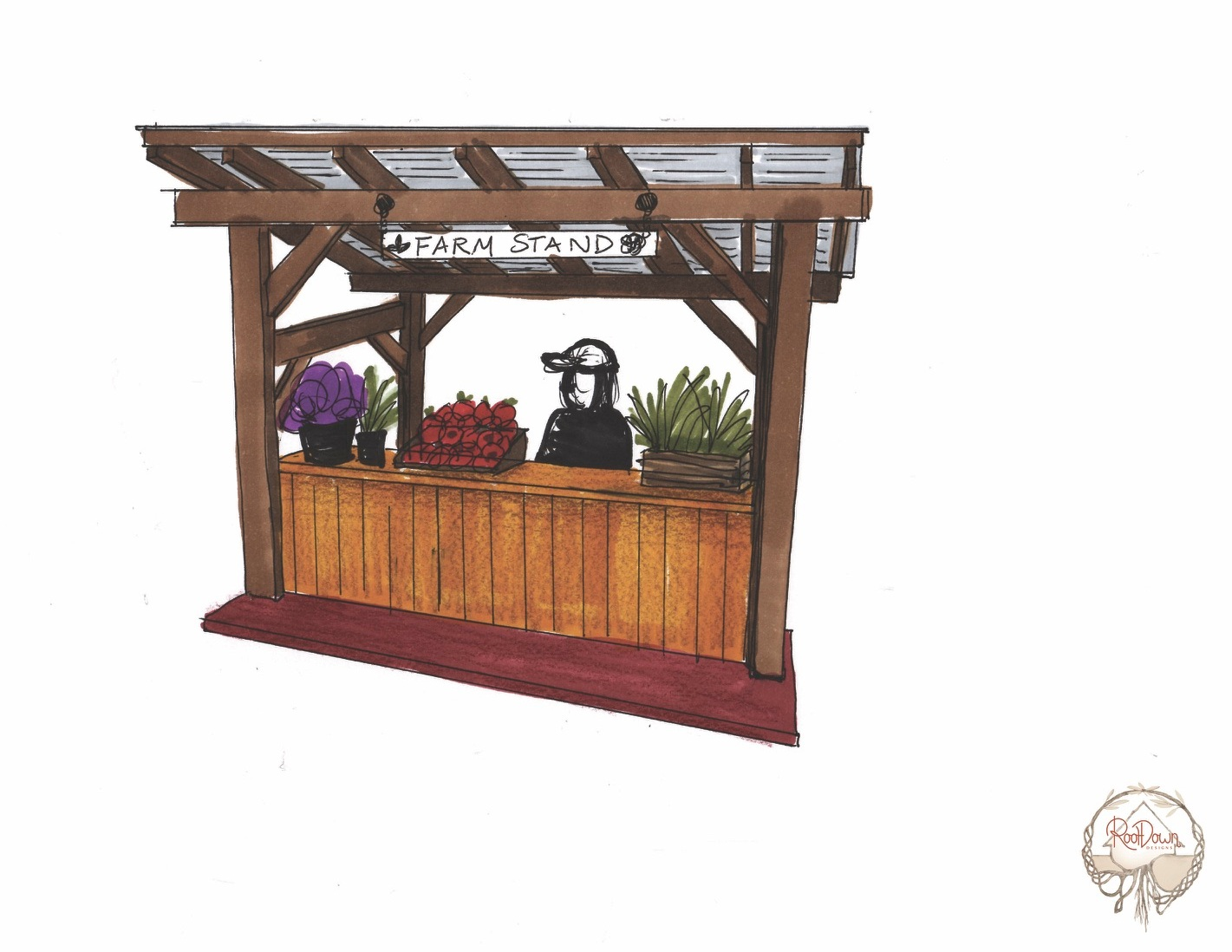 Market Stand to support local agriculture