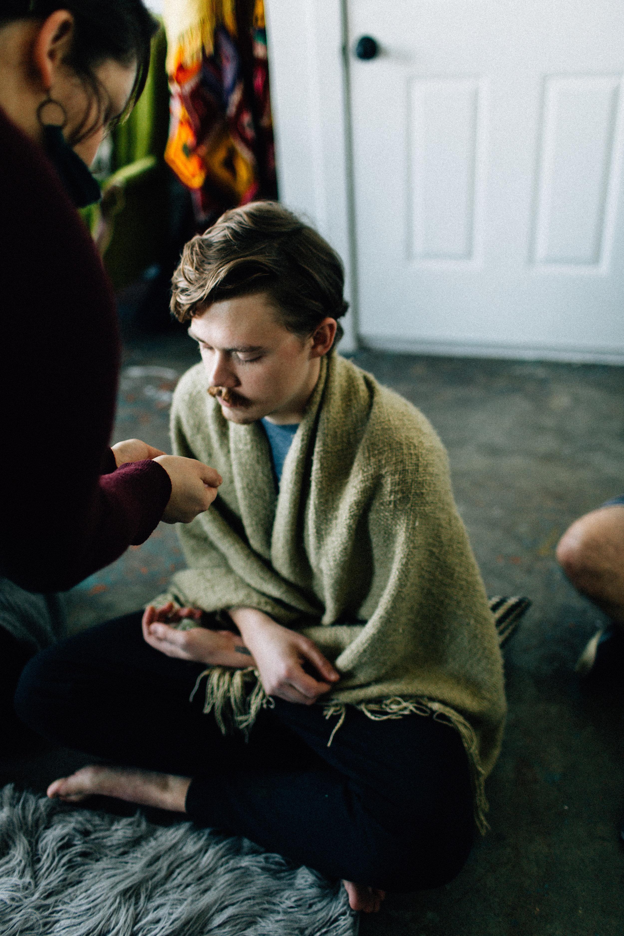 Ipseity Incandescent Healing Studio Reiki Session; Photo by Kendall Lauren www.kendalllauren.com.