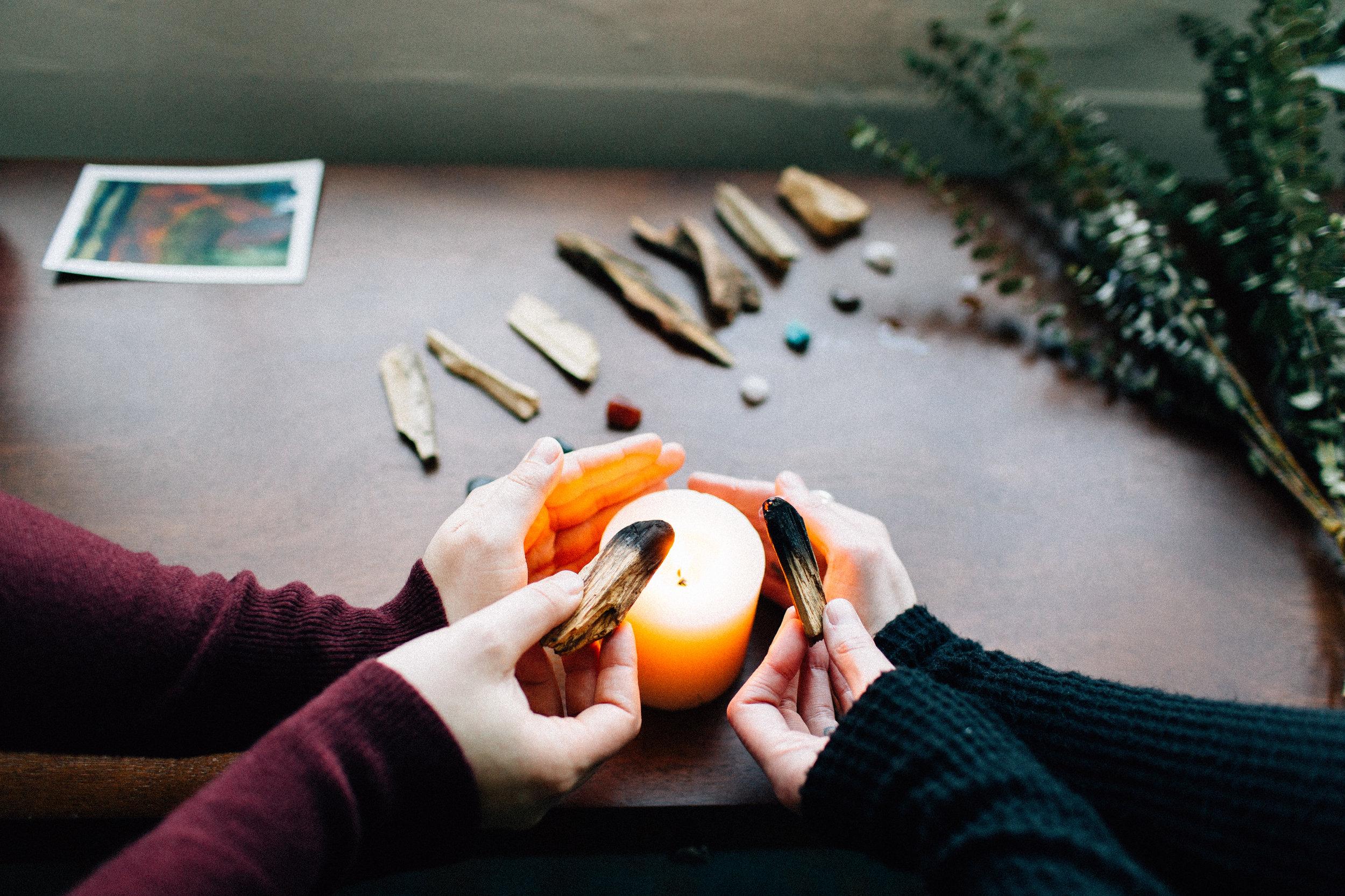 Ipseity Incandescent Healing Studio Reiki Session; Photo by Kendall Lauren www.kendalllauren.com