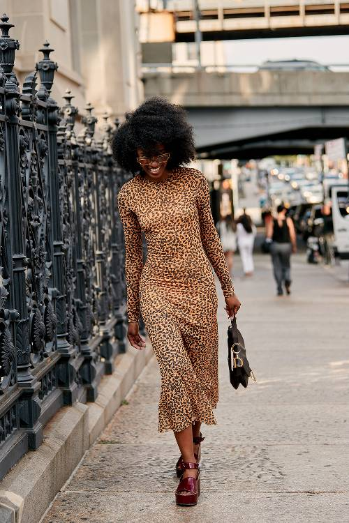 Cheeetaah!!! I know animal prints will be a staple this fall. Duly noted.