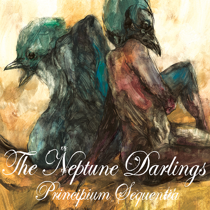 Principium Sequentia - Released January 18, 2018Tracklisting: 1. Animal Eyes2. Ragtime Sighs3. Subterranean4. In a Circle5. One Smile6. No Connection7. Ode to Jasper8. Sea of StarsAll songs written by The Neptune DarlingsMina Caputo: Vocals, Synths, Electric Pianos, Rhodes, Wurlitzer, Acoustic/Electric GuitarsRyan Oldcastle: Vocals, Electric & Acoustic Guitars, Bass Guitars, Synths & Beats programmingAndy Kravitz ('A'2 THE'K'): Drums, Beats & Percussion, Acoustic Pianos, programming, Atmospherics, synths,& backing vocals on