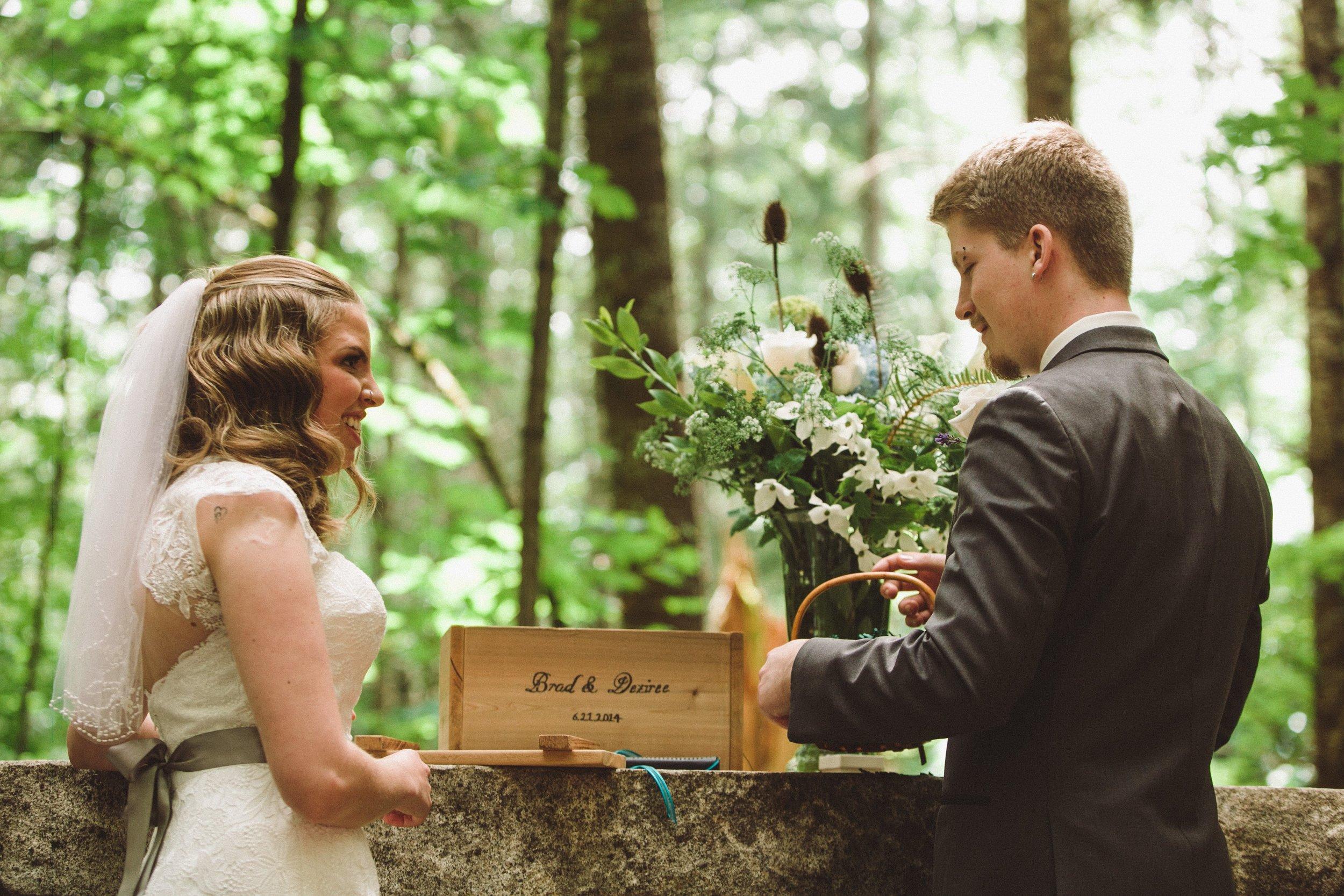 Actual wedding photo by Jenny Wohrle