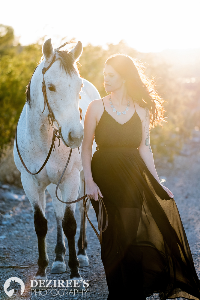 Epic dresses may not be your regular riding wear, but they make for some beautiful photographs.