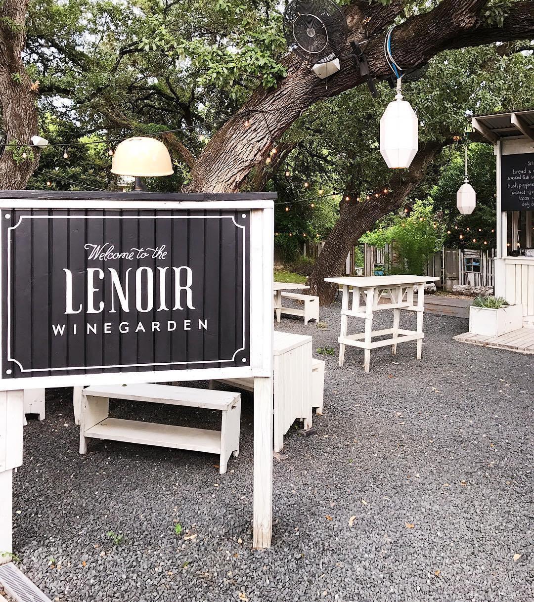 Lenoir Wine Garden