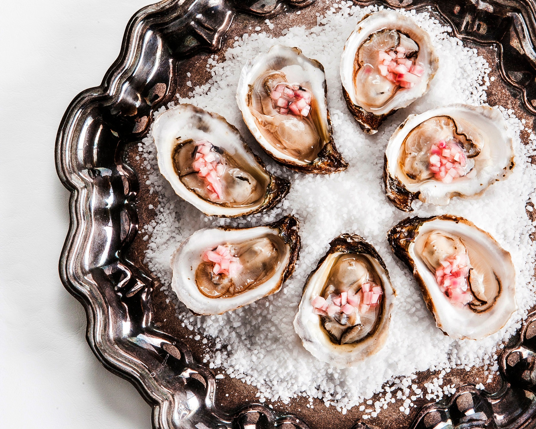 Oysters on the half shell with mignonette.jpg