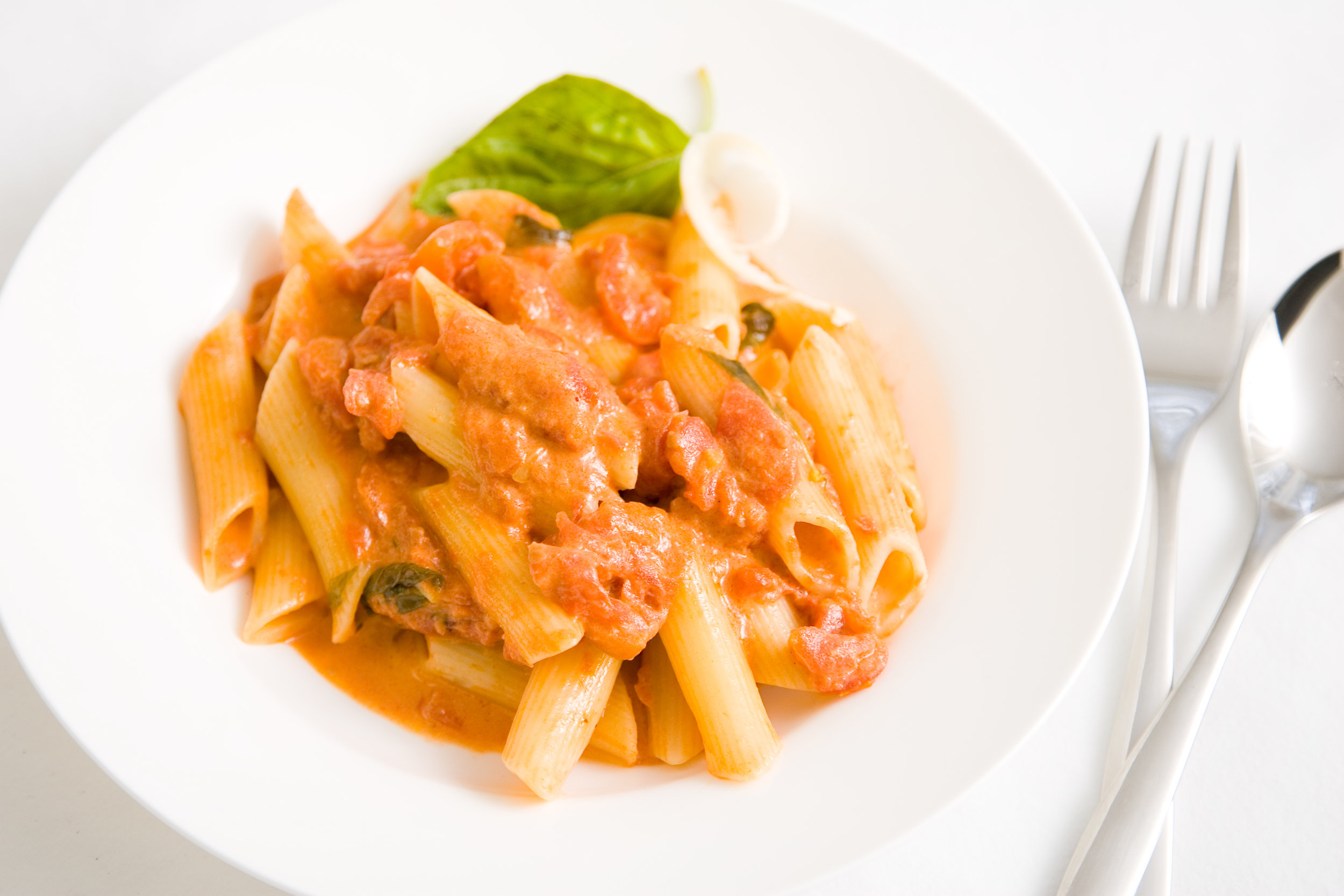 Penne with tomato cream.JPG