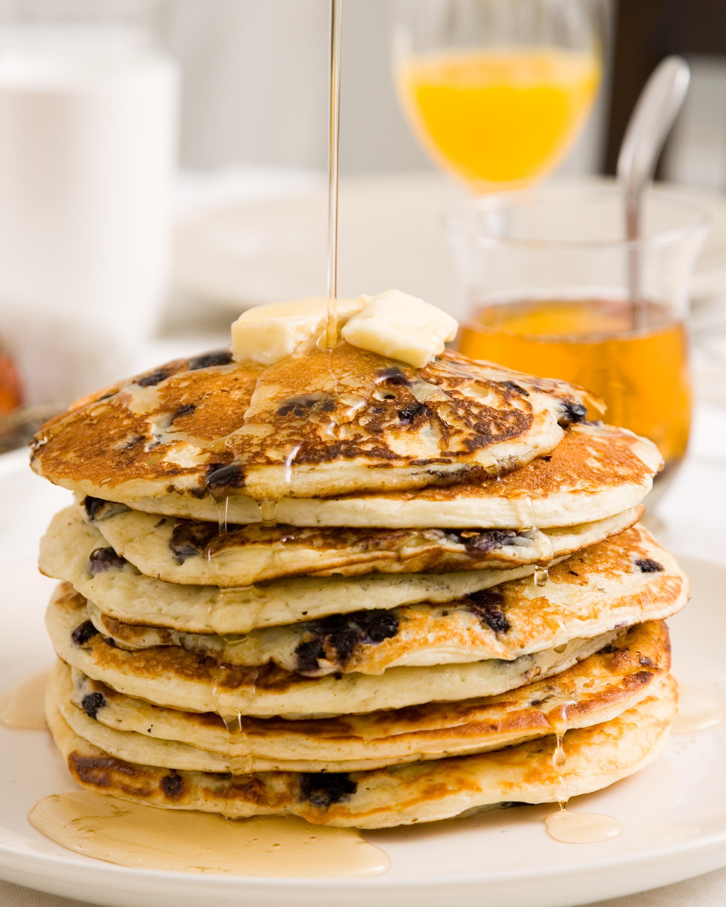 Weekend blueberry pancakes.jpg