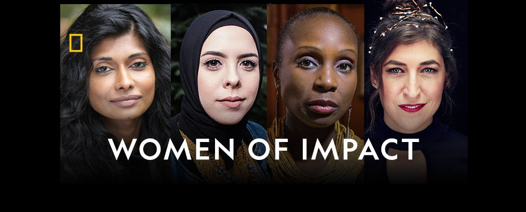 National Geographic's  Women of Impact  campaign; activated a Facebook group for everyone invested in women breaking barriers in their fields, changing their communities, and exploring the world. The Facebook community has more than 50,000 members and hosts a digital book club, LIVE interactive Q&As, and facilitates in-person meet-ups around popular topics.