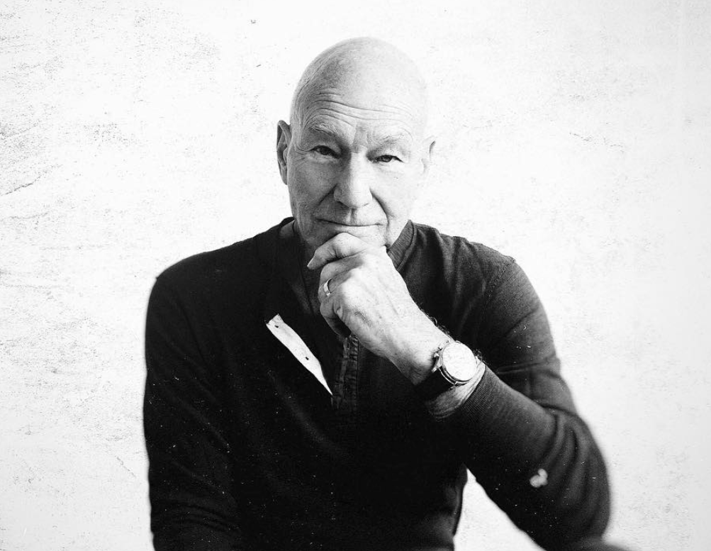 Sir Patrick Stewart admits he uses medical marijuana for his arthritis pain. -