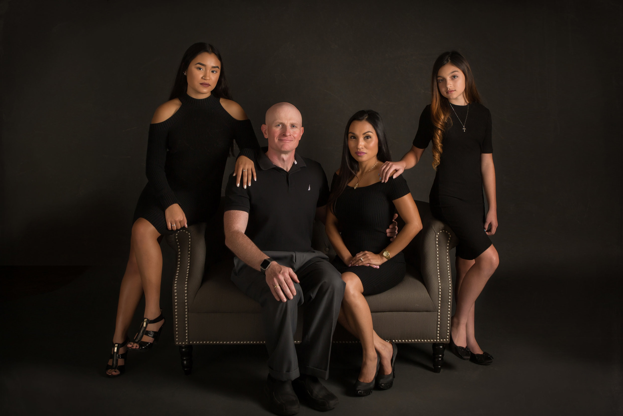studio family photo session gahanna ohio
