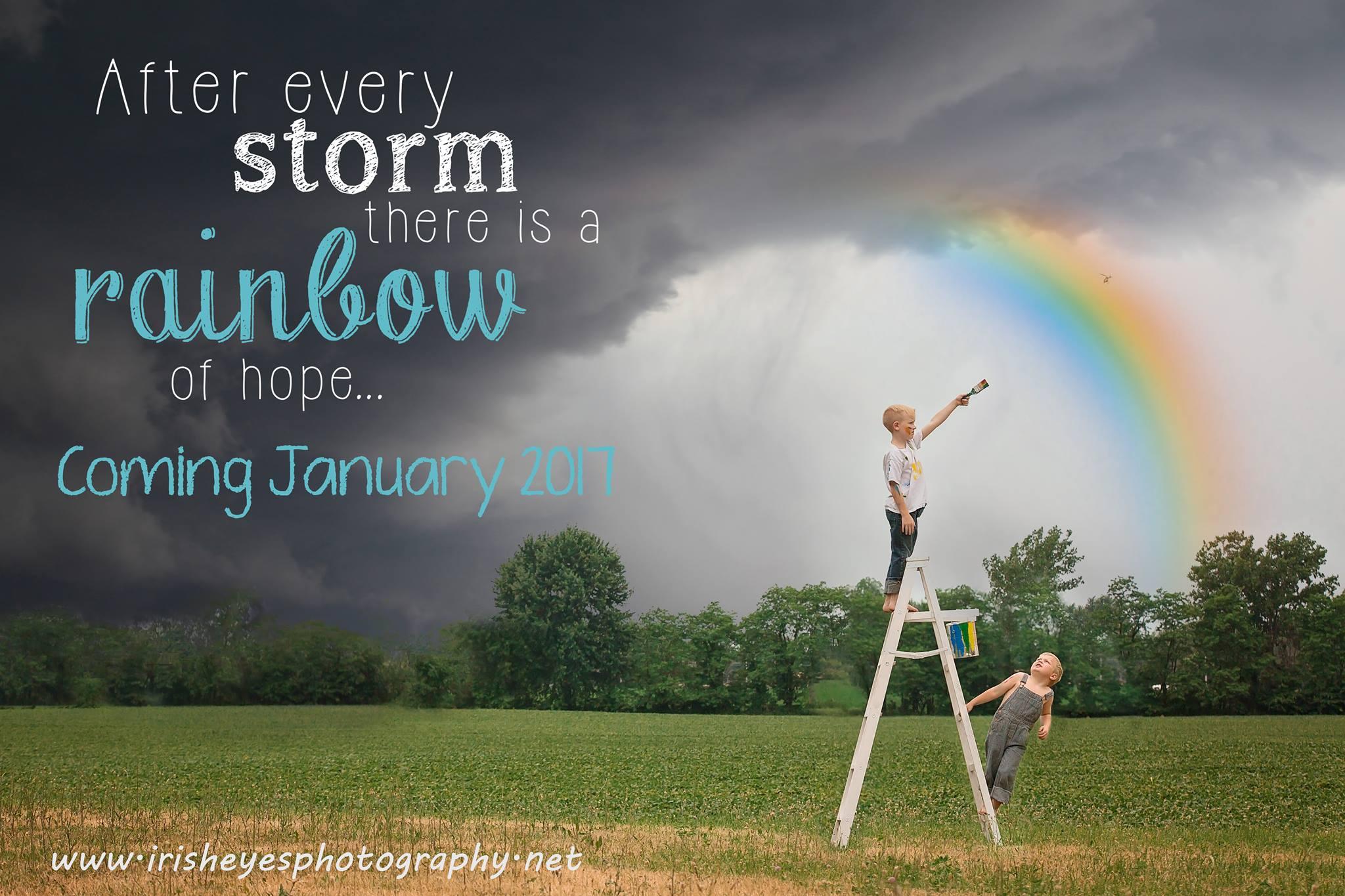 rainbow baby pregnancy announcement columbus ohio