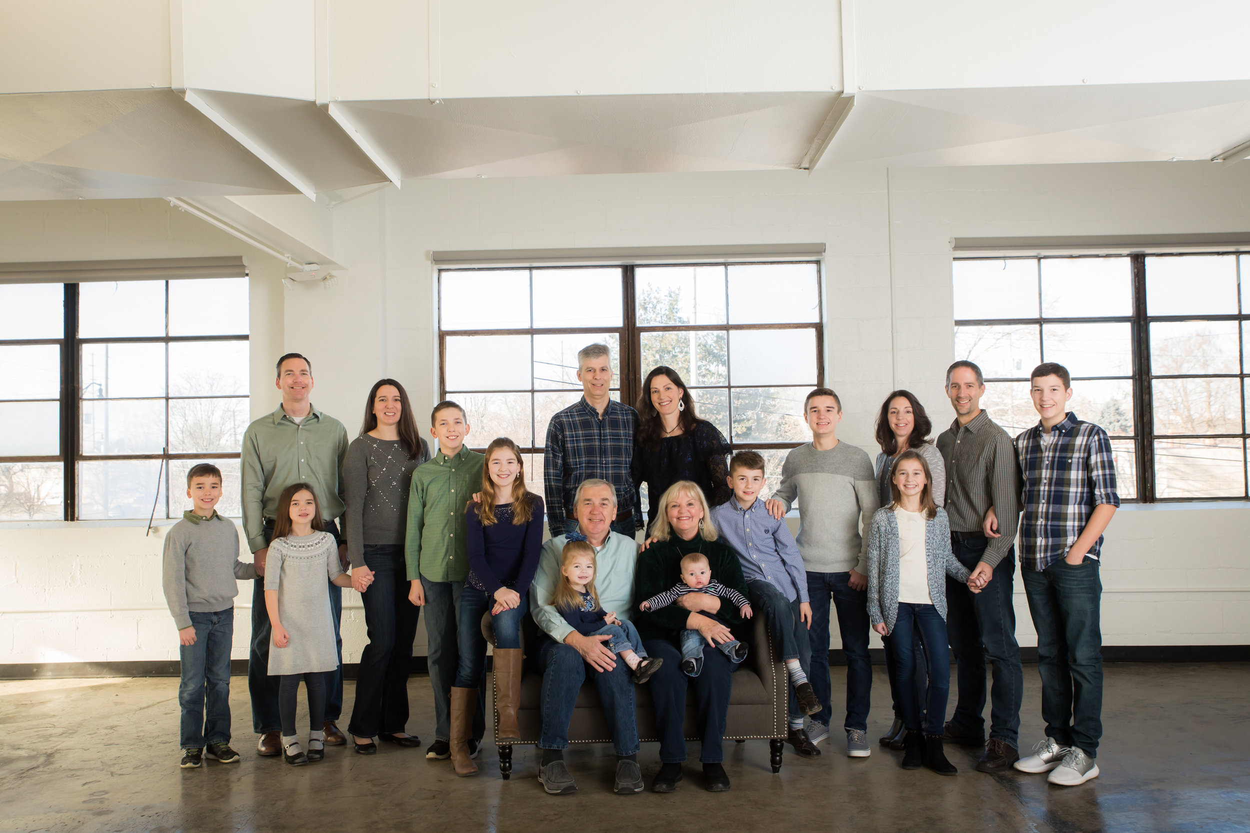 extended family photo shoot gahanna ohio