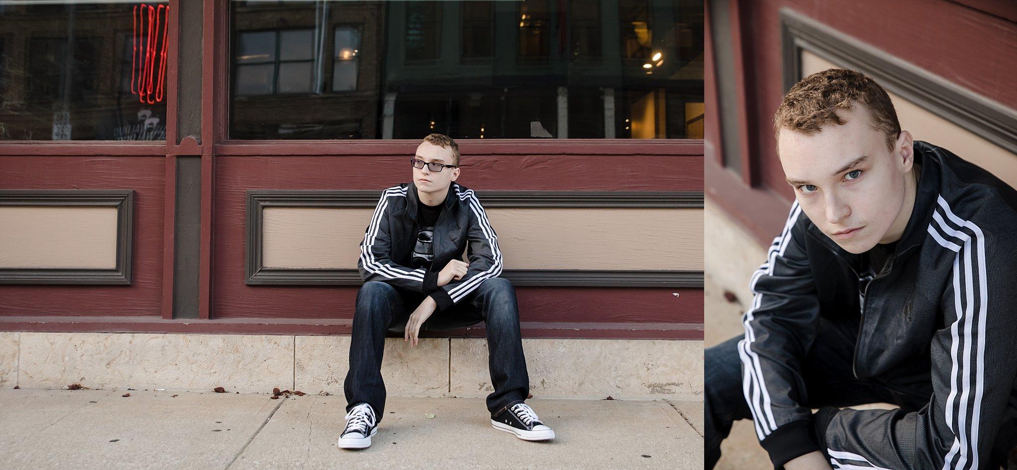 downtown columbus, ohio senior photos