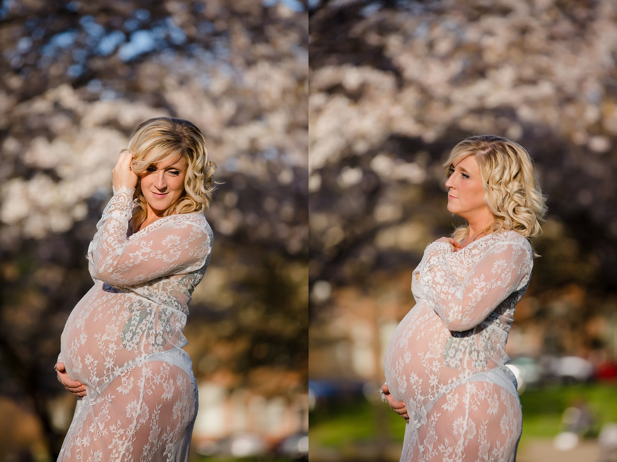 Spring Maternity session in downtown Columbus, Ohio