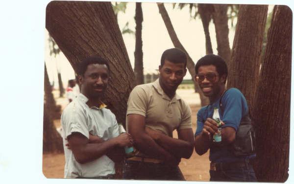 Left to right: DJ Easy Lee, DJ Subculture (DJ T), DJ Markie B.