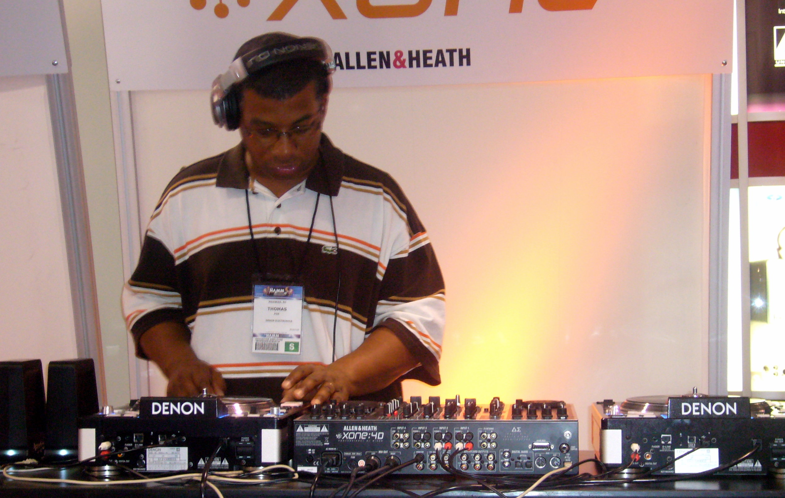 NAMM show, 2009.